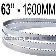 "Butchers Meat Bandsaw Blades (5 Pack). 63"" (1600mm) X 5/8"" X 4tpi"
