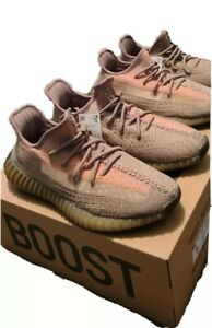ADIDAS YEEZY  BOOST 350 V2 Sand Taupe FZ5240 100% AUTHENTIC Men's size 9