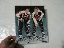 Wayne Gretzky  Brett Hull Dual Autographed Allstar 8x10 Photo COA