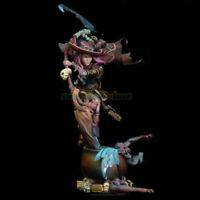 Unpainted 1/18 90MM Female Witch Garage Kit Resin Kit Unassembled Figure Model