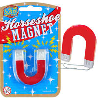 MINI HORSESHOE MAGNET TRADITIONAL TOY BOYS GIRLS GIFT BIRTHDAY PARTY BAG FILLER