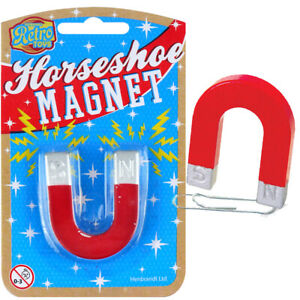 MINI HORSESHOE MAGNET TRADITIONAL TOY BOYS GIRLS EDUCATIONAL SCIENCE DISCOVERY