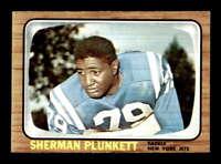 1966 Topps #99 Sherman Plunkett  NM/NM+ X1462360