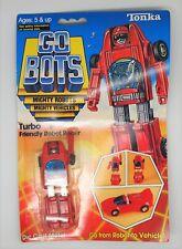 VINTAGE NOS 1983 GOBOTS TURBO FACTORY SEALED 7 BACK MOC ROBOT TRANSFORMERS TONKA