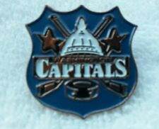 NHL WASHINGTON CAPITALS SHIELD PIN NEW IN PACKAGE