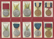 TADDY & CO.  -  EXTREMELY RARE SET OF  50 MEDALS  &  DECORATIONS  CARDS  -  1912