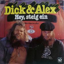 """7"""" 1977 RARE IN VG+ ! DICK & ALEX : Hey steig ein"""