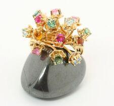 ♦♦♦750 18kt traumhaft schöner Damen Turmalin Gold Ring Turmalinring Schmuck♦♦♦