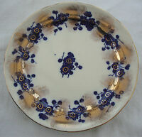 ANTIQUE ORIGINAL BLUE  MID 19thC ANTIQUE S.HANCOCK STAFFORDSHIRE POTTERY PLATE