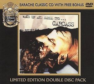 Wake Up and Smell the Carcass [CD/DVD] by Carcass (CD, Jun-2009, 2 Discs,...