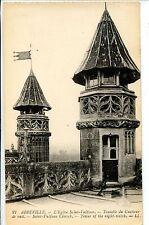 CP 80 SOMME - Abbeville - L'Eglise Saint-Vulfran - Tourelle du Guetteur