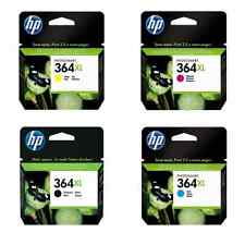 HP 364XL Set of 4 Multi Pack Original OEM Inkjet Cartridges For Photosmart B210