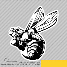 Angry Bee Boxing Gloves Vinyl Sticker Decal Window Car Van Bike 2705