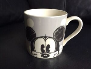Cath Kidston Disney Grey Spot Mickey Mouse and Friends Mug