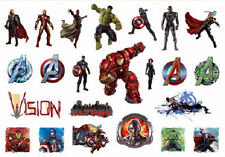 """Marvel Avengers Age of Ultron Stickers Decal Sheet Sticker AOU 5.75"""" x 4"""" NEW"""