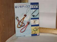 Hamanaka mini Book Kumihimo Mini Book Japan 2004 softcover 9 designs