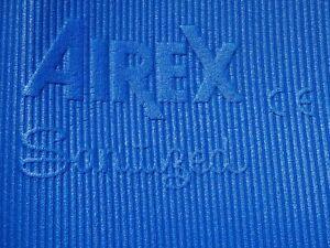 Blue, AIREX SANITIZED Yoga, Pilates, Fitness,Exercises,Gymnastics Mat