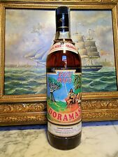 RUM RON MIEL  = DORAMAS = OLD AND RARE BOTTLE = OF 60s .