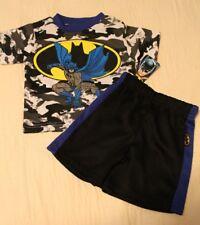 BOYS 12 months BATMAN DC Comics mesh 2-piece outfit (t-shirt & shorts) NWT