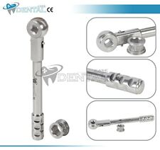 Universal Dental Implant Wrench Ratchet Long Handle 40mm Amp 635mm Hex Head Ce