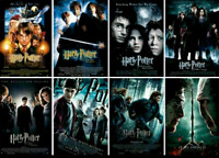 Harry Potter : Brand New Complete Series ( 8 Film Box Set) 8-disc Colletion DVD