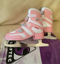 Jackson Softec Tri-Grip Figure Skates, Size 3, Excellent!