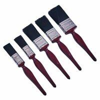 5 Pack Paint Brush Brushes Decorating DIY Painting Set UK Stock Art Craft NEW