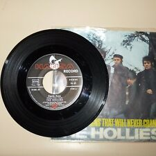 ROCK/POP 45 RPM RECORD WITH PICTURE SLEEVE - THE HOLLIES - HANSA 19540 - GERMAN