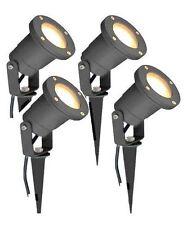 Long Life Lamp Company GU10 Outdoor Garden Spike Light, Pack of 4