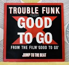 TROUBLE FUNK - Good To Go [Vinyl 12 Inch,1986] German Import 608 407 Hip-Hop EXC