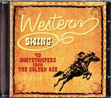 Western Swing: 40 Bootstompers From The Golden Age Best of 2-CD Milton Brown etc