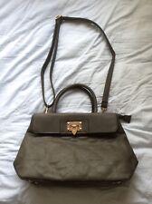 LADIES Stylish FAYE OF LONDON Faux Leather WOMENS Handbag TOTE BAG