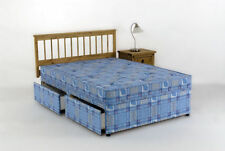 Cloud Nine Medium Soft Fabric Beds with Mattresses