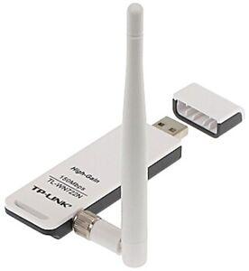 TP-Link TL-WN722N 150Mbps WiFi Wireless USB Adapter Antenna Windows 7/8/10 BULK