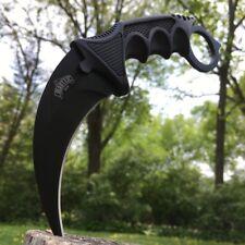 """8"""" Military Tactical Karambit Hunting Skinner Hawkbill Neck Knife Claw Dagger"""