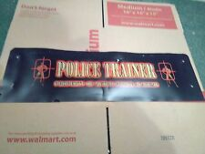 police trainer arcade marquee #5