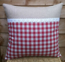 "Shabby Chic Retro Vintage Style Cushion Cover/16x16""/Clarke&Clarke LOCH fabric"