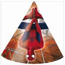 6 CAPPELLINI DI SPIDERMAN  feste carnevale compleanno party