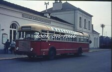 U55 - Dia slide original 35 mm bus autobus touringcar: NMBS Bus 1973