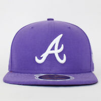 New Era 59FIFTY Kids Cleveland Indians Atlanta Braves Fitted Baseball Cap 6 5/8