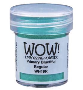 WOW! Embossing-pulver Sprinkle powder Primary Bluetiful  mint blau-grün WH19R