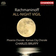 new/sealed SACD: Rachmaninoff ALL-NIGHT VIGIL, Phoenix & Kansas City Chorale