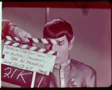 Star Trek TOS 35mm Film Clip Slide Savage Curtain Clapper Board Spock 3.22.39