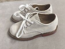 Boys Polo Ralph Lauren Tan Suede Dress Shoes Size 8
