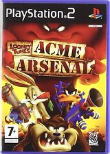 PS2 Looney Tunes Acme Arsenal Nuevo Precintado Pal España