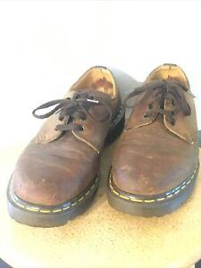 Dr. Martens Doc England Distressed Platform US Men Size 8 Original Low Boot