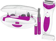 AEG Lady Shaver Rasierer Beauty Set pink Maniküre Pediküre Augenbrauentrimmer