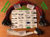 (50)LAMP KIT/QR-6500/QRX 5500 QRX-6500 QRX-7500/QR-4500//6060 7070 8080/Sansui