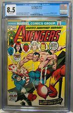 AVENGERS #117 CGC 8.5 John Romita Sr cover DEFENDERS crossover! 1973 *NO RESERVE