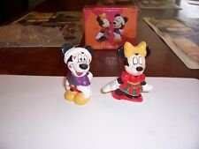 Mickey & Minnie Mouse Salt Pepper Shakers